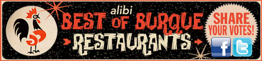 Share your Alibi Best of Burque Restaurants ballot