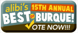 Vote for us!! Alibi Best of Burque