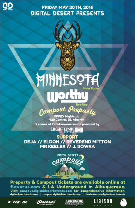 Minnesota • dubstep, dance, electronic • Worthy at Effex