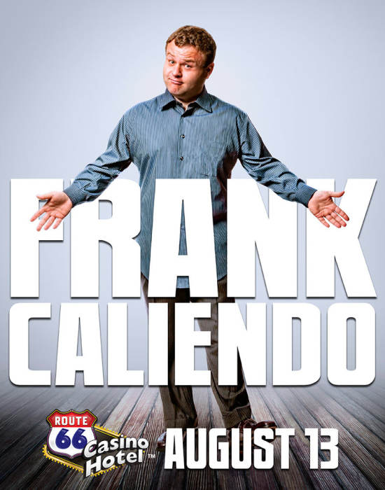 Frank Caliendo Comedy At Legends Theater Route 66