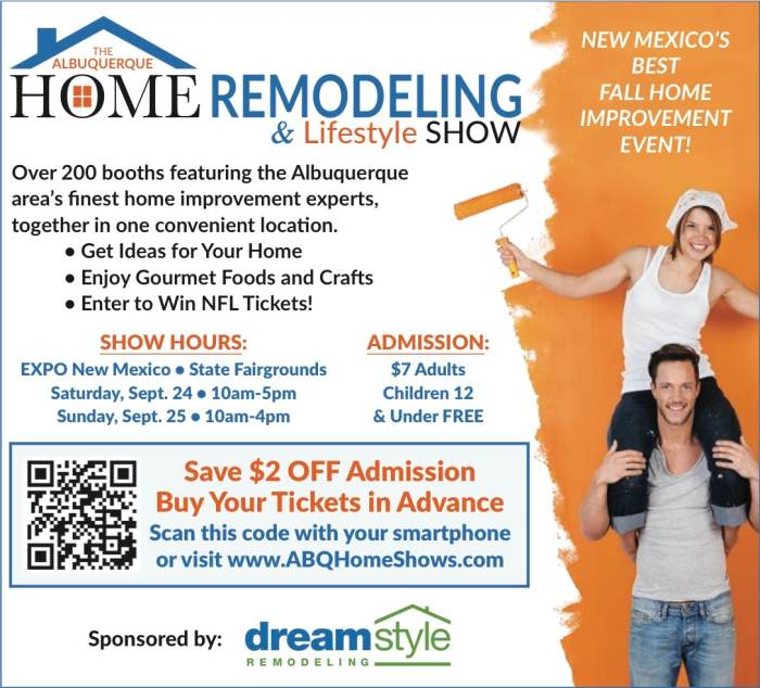 ABQ Home Remodeling And Lifestyle Show At Expo New Mexico