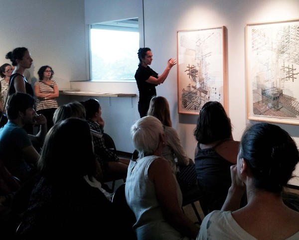 Nicola López artist talk at Tamarind Gallery, 2012