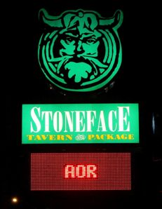 AOR Live at Stone Face!
