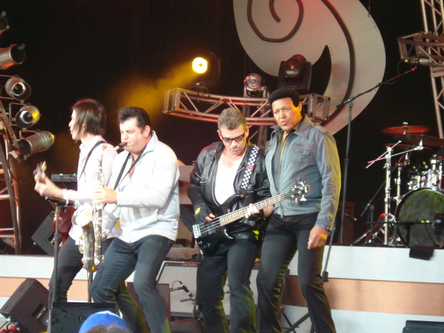 Necessary words... Chubby checker and the wildcats that can