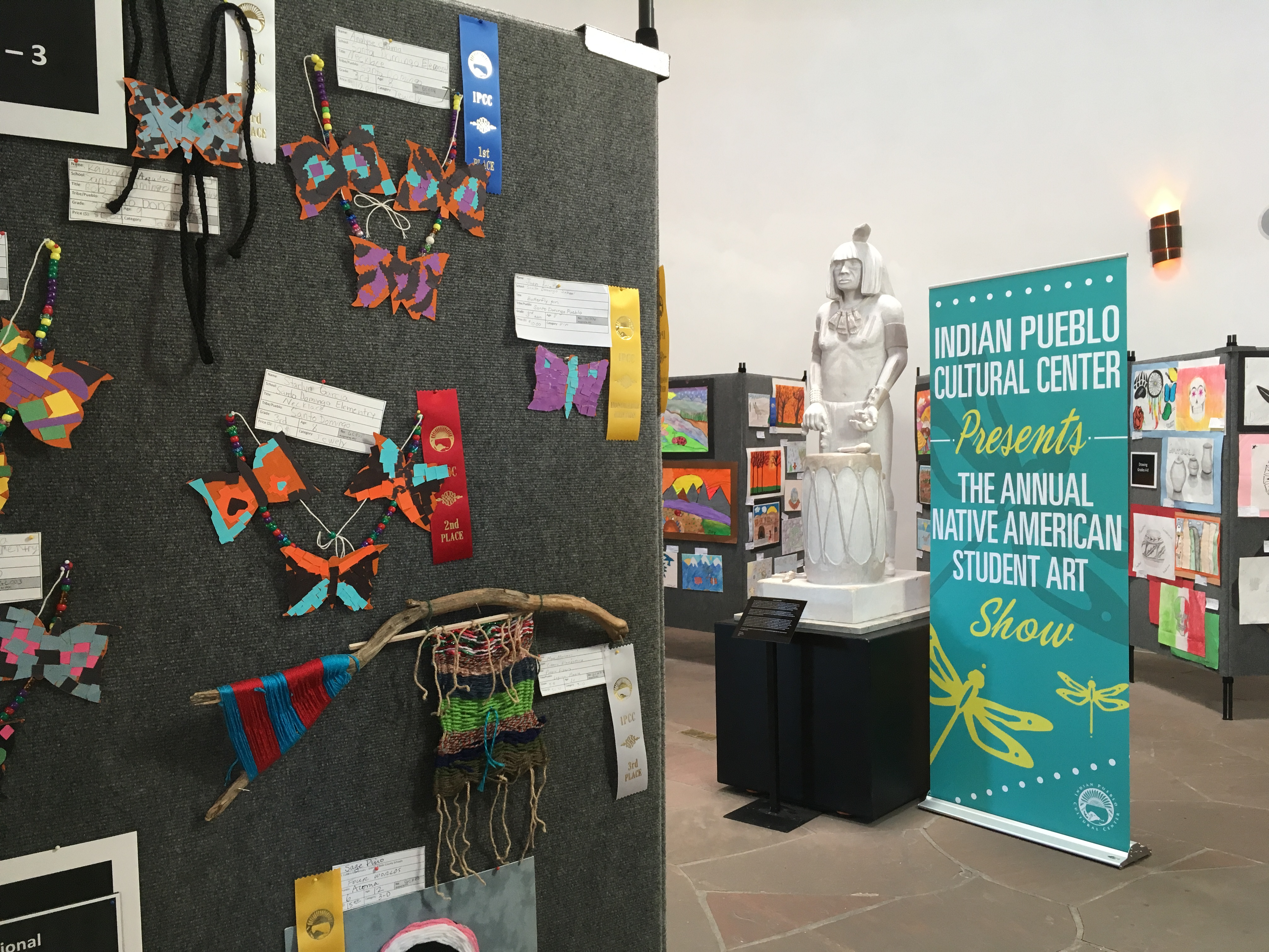 38th annual native american student art show opening for Craft shows in albuquerque 2017