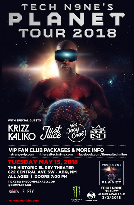 TECH N9NE @ The Historic El Rey Theater