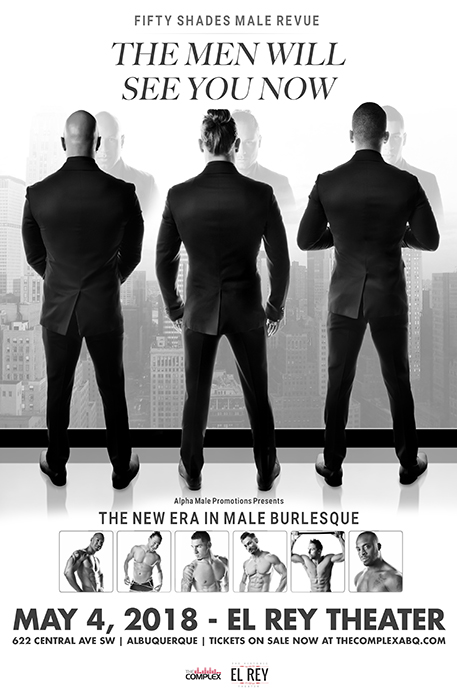 The Fifty Shades Male Revue @ The Historic El Rey Theater