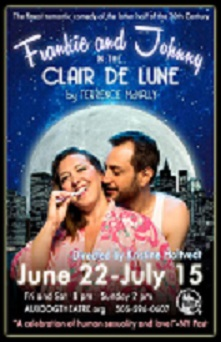 Frankie and Johnny in The Clair De Lune at Aux Dog Theatre, Albuquerque