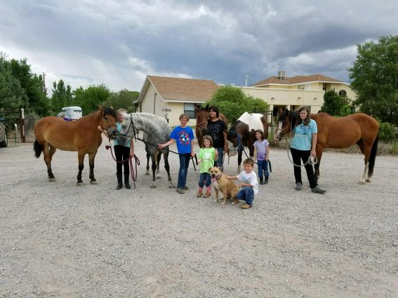 A Kid Friendly Birthday Party For Young Horse And Show Featuring Kids From EEAs Horsemanship Program