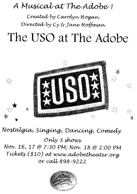 The USO at the Adobe