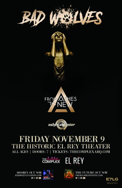 Bad Wolves @ The Historic El Rey Theater