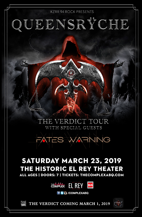 Queensrÿche @ The Historic El Rey Theater