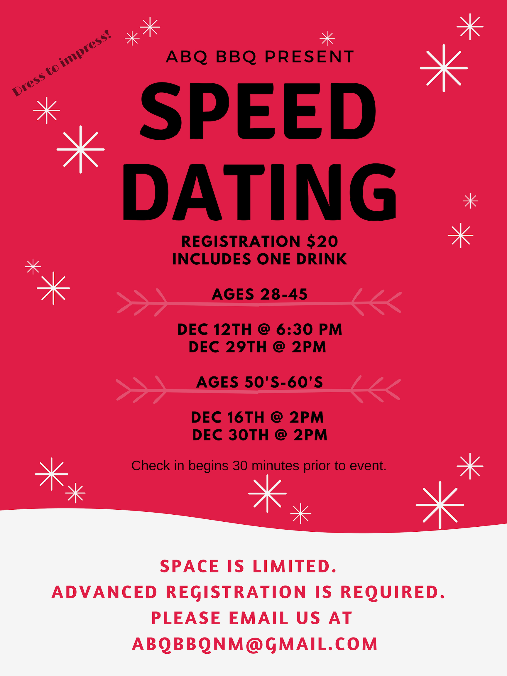 speed dating in albuquerque new mexico