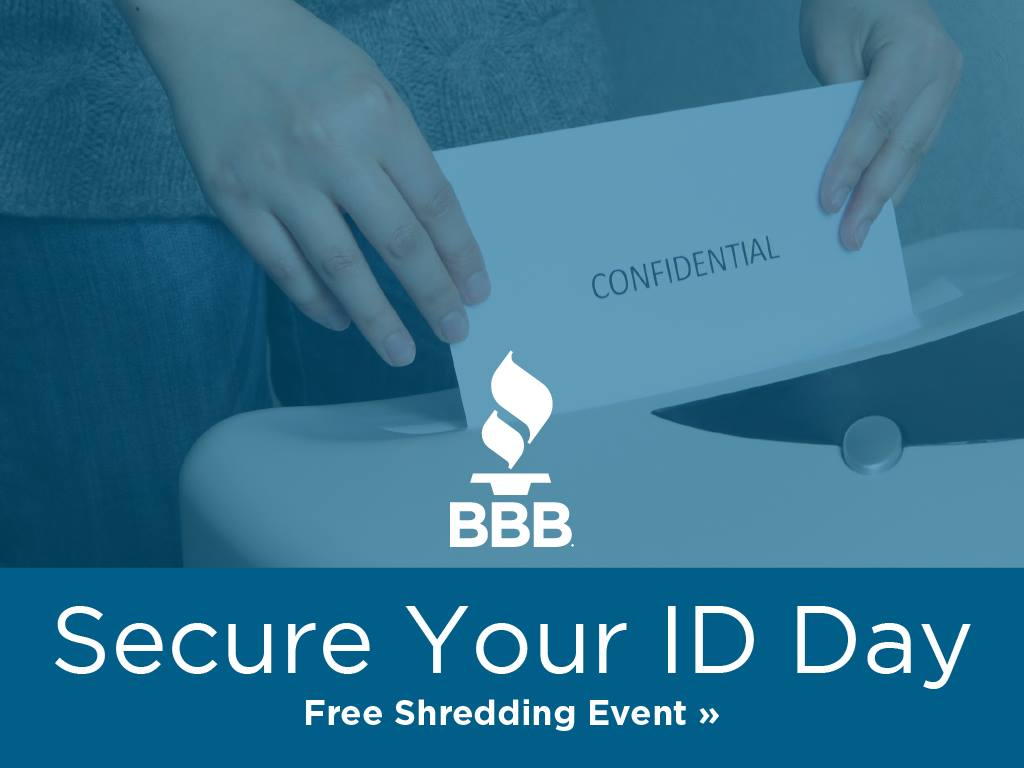 Secure Your ID Day: Free Shredding Event at Black Dog