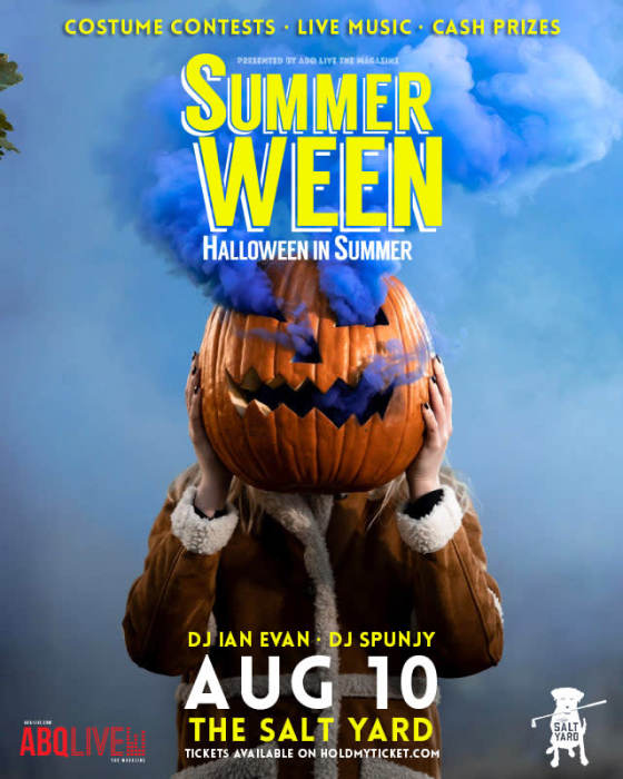 ABQ SummerWeen • DJ Ian Evan • pop, hip-hop • DJ Spunjy at The Salt