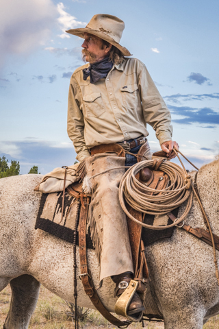 """Frank Spencer, Real NM Cowboy"" Photo by Gail Odom"